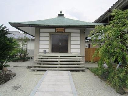 額安寺の虚空蔵堂