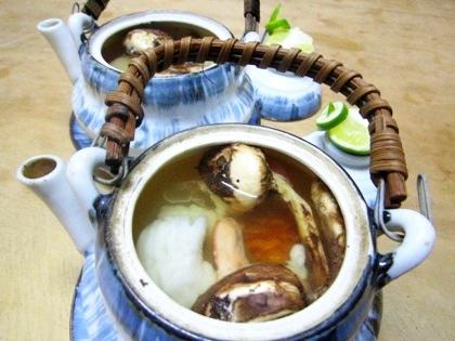 土瓶蒸し 大神神社結婚式の食事