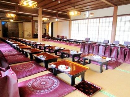 大神神社の結婚式食事会場