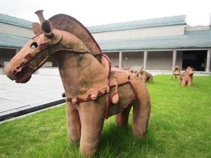 中庭の動物埴輪