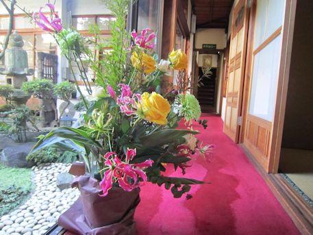 披露宴の花