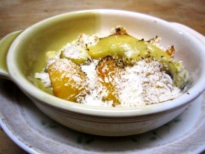 柿と栗の柚子味噌焼き