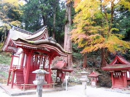 比叡神社の祠