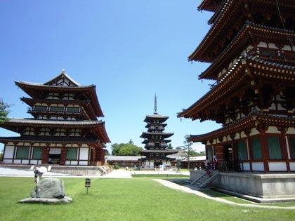 薬師寺の白鳳伽藍