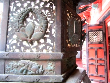 上り藤 談山神社の社紋