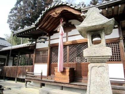 十二柱神社の拝殿
