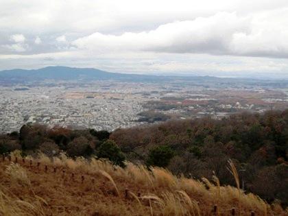 鶯塚古墳からの眺望