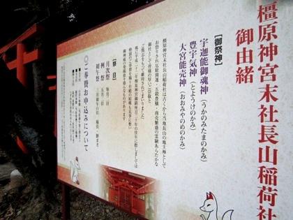 長山稲荷社の御由緒