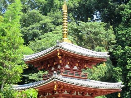 三輪山平等寺二重塔