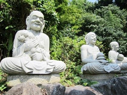 十六羅漢 三輪山平等寺