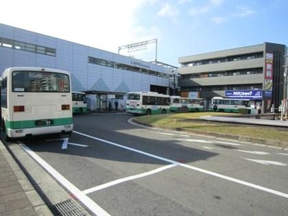 近鉄桜井駅北口ロータリー
