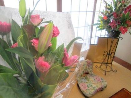両親贈呈用花束