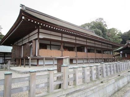 橿原神宮の神楽殿