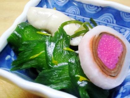 牡蠣の酢の物 忘年会シーズン