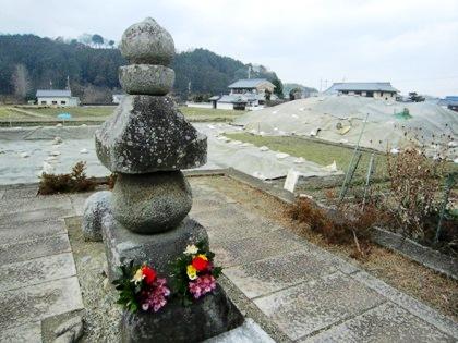 入鹿の首塚と飛鳥寺西方遺跡