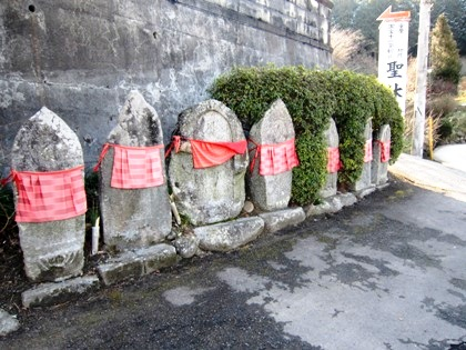 聖林寺駐車場