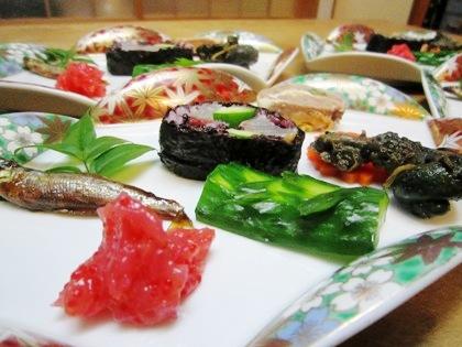 タルミの巻き寿司