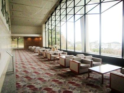 万葉文化館の眺望スペース