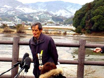 日本考古学協会理事の森岡秀人氏