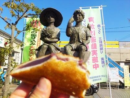 JR桜井駅南口の平和の像