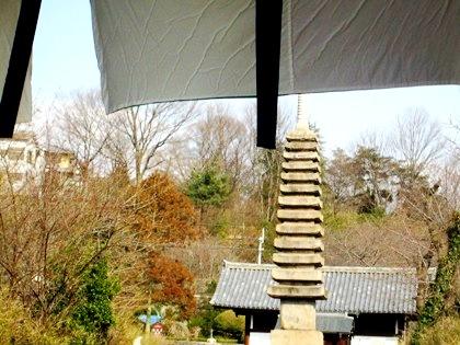 般若寺の十三重石宝塔