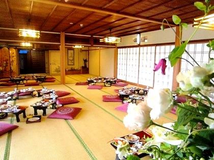 長谷寺の結婚式の会食