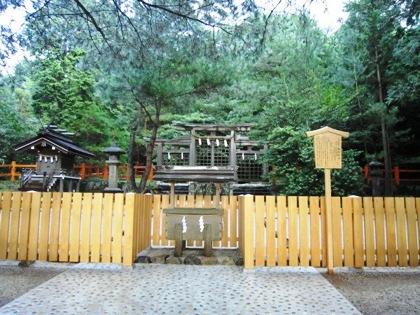 桧原神社の鳥居 三ツ鳥居