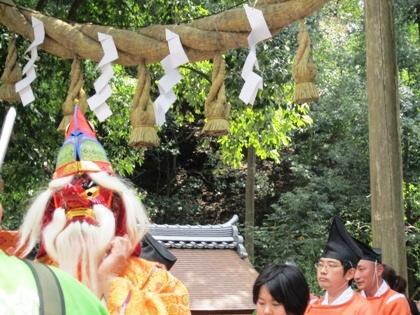 若宮神幸祭のサルタヒコ