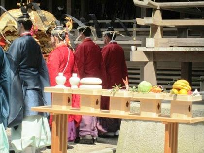 若宮神幸祭の神饌