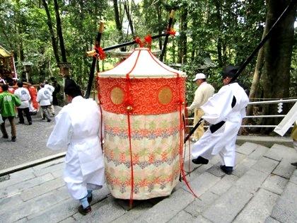 若宮神幸祭の時代行列
