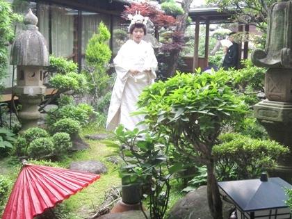 大神神社結婚式の和装前撮り
