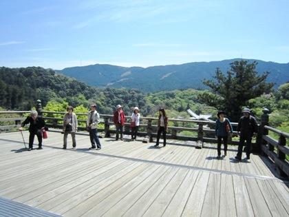 長谷寺の舞台
