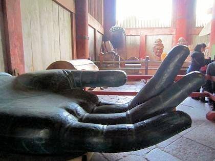東大寺大仏の与願印