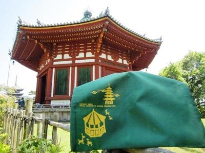 興福寺南円堂とエコバッグ