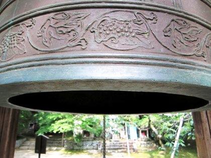 長岳寺の鐘