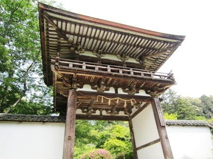 長岳寺楼門