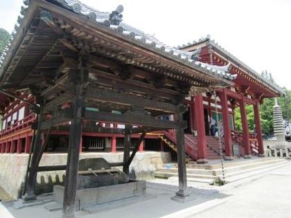 矢田寺の手水舎