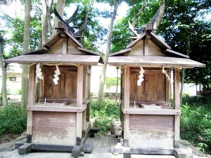 笛吹神社 鍵取神社