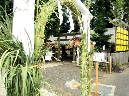 綱越神社の夏祭り
