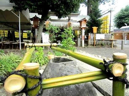 綱越神社の手水
