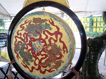 おんぱら祭の太鼓
