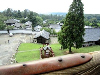 東大寺二月堂からの眺望
