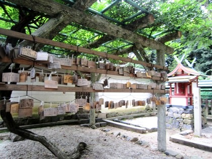氷室神社の絵馬