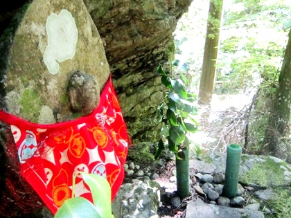 地蔵菩薩 蜻蛉の滝