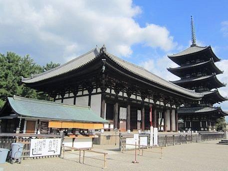興福寺東金堂と五重塔