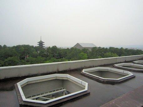 奈良県庁屋上広場