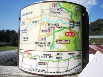 布留の高橋 地図