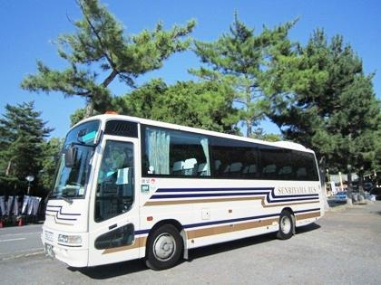 貸切バスの千里山バス