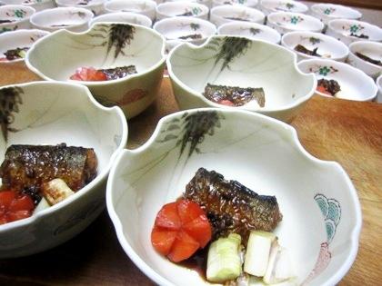 秋刀魚の山椒煮