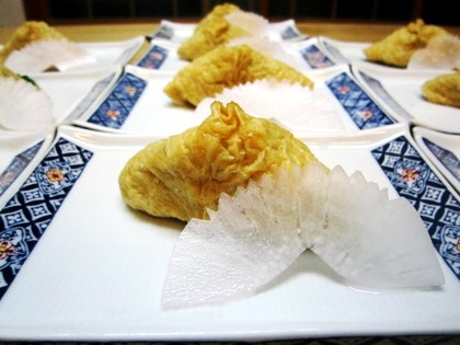 おからの稲荷寿司